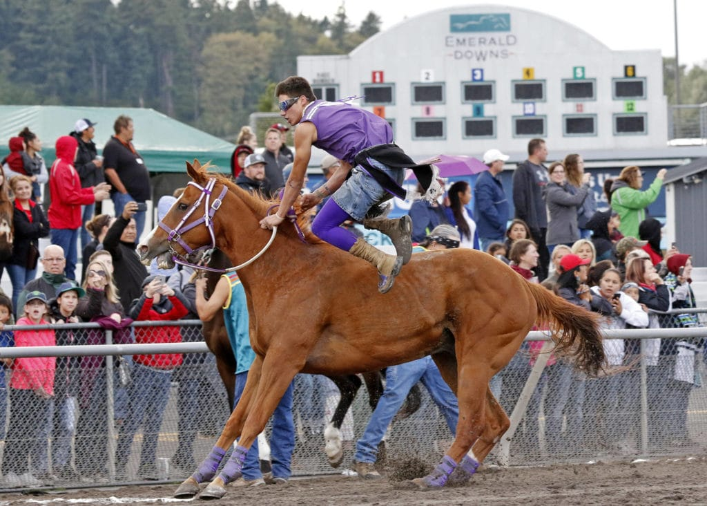 Indian Relay Races Day 3 Emerald Downs