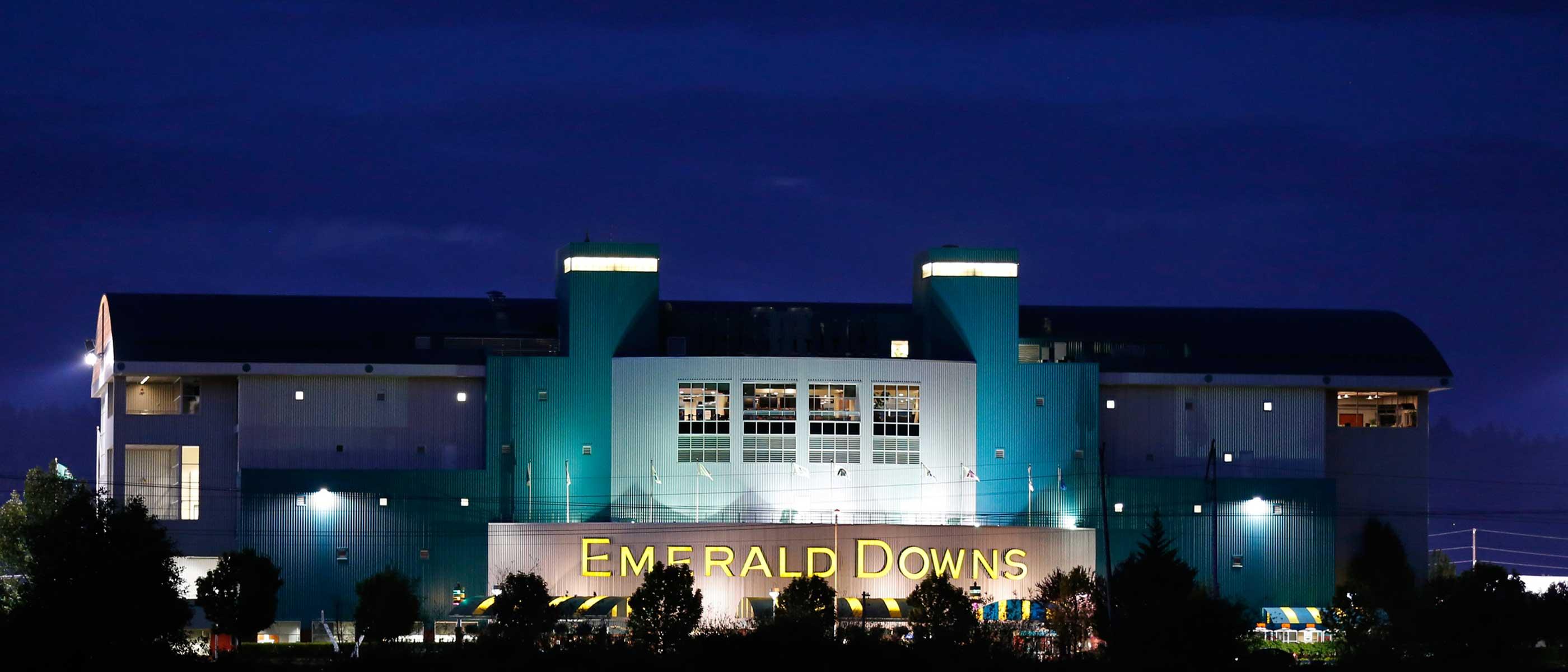 Emerald Downs Building Emerald Downs