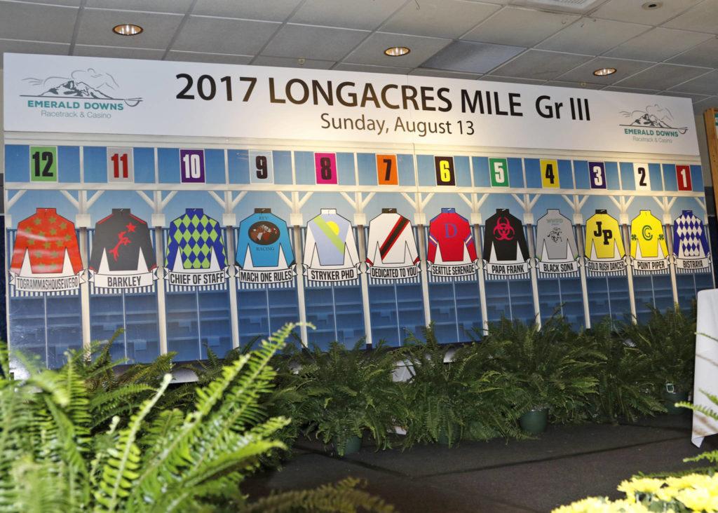 Full Field For Sunday S 200 000 Longacres Mile G3